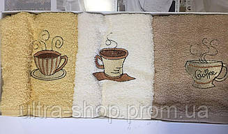 Набор кухонных полотенец Juanna махра Турция коробка