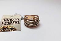 Золотое кольцо. Размер 17,5. Вес 6,34 грамм. Комиссионное, б/у.