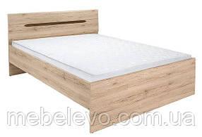 Кровать Эльпассо LOZ160 975х1650х2035мм дуб сан-ремо светлый Гербор