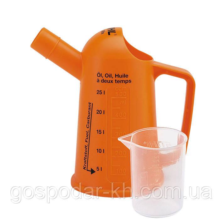 Мірний стакан 100 мл для приготування паливних сумішей (до 5 літрів)