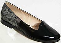 Балеткибольшого размера, балетки кожаные женские от производителя модель МИ3944-12