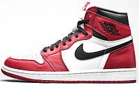 Женские кроссовки Air Jordan 1 Chicago Red/White