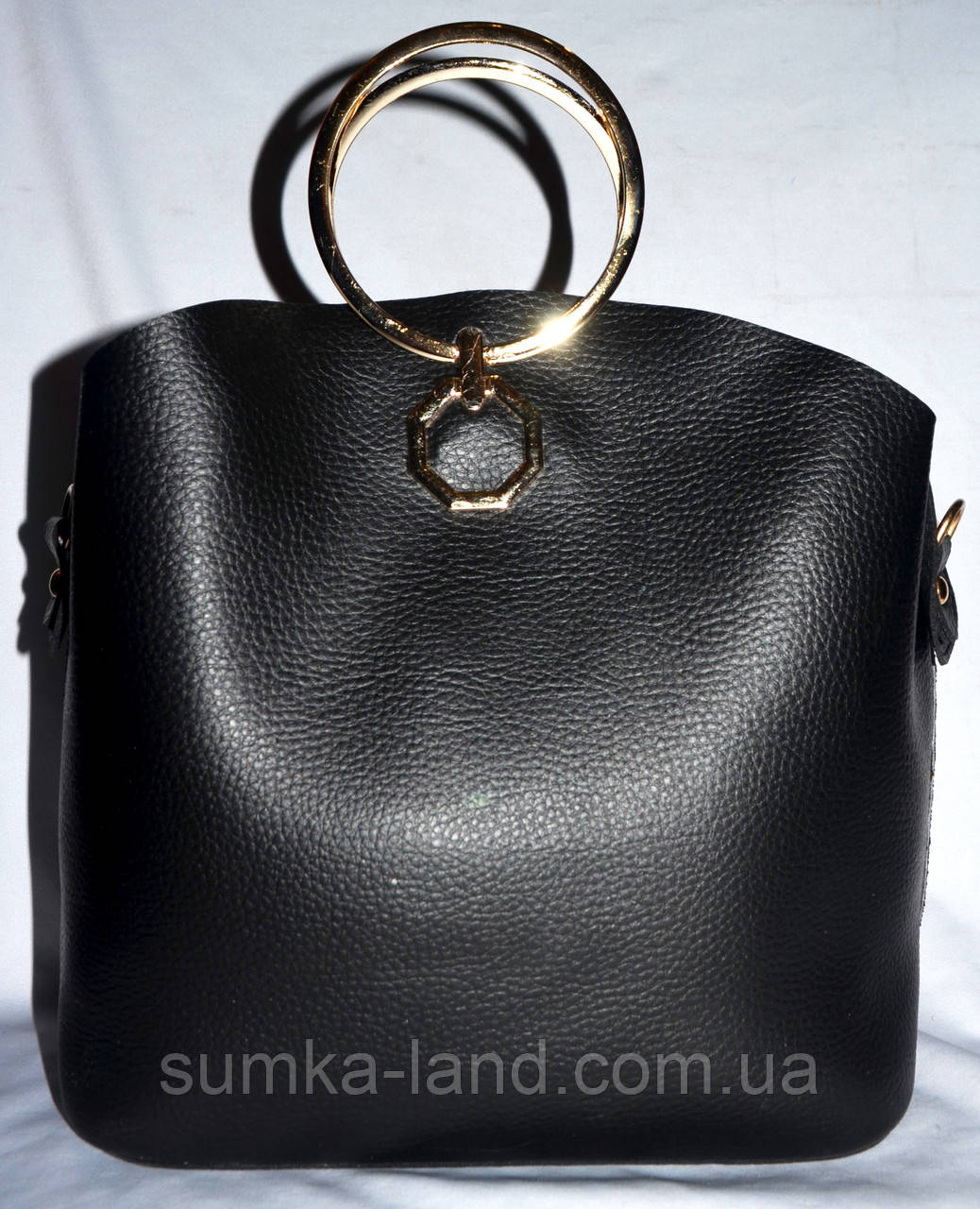 e6663aee8b63 ... Женская пудровая сумка Michael Kors с металлическими круглыми ручками  27 24, фото 4