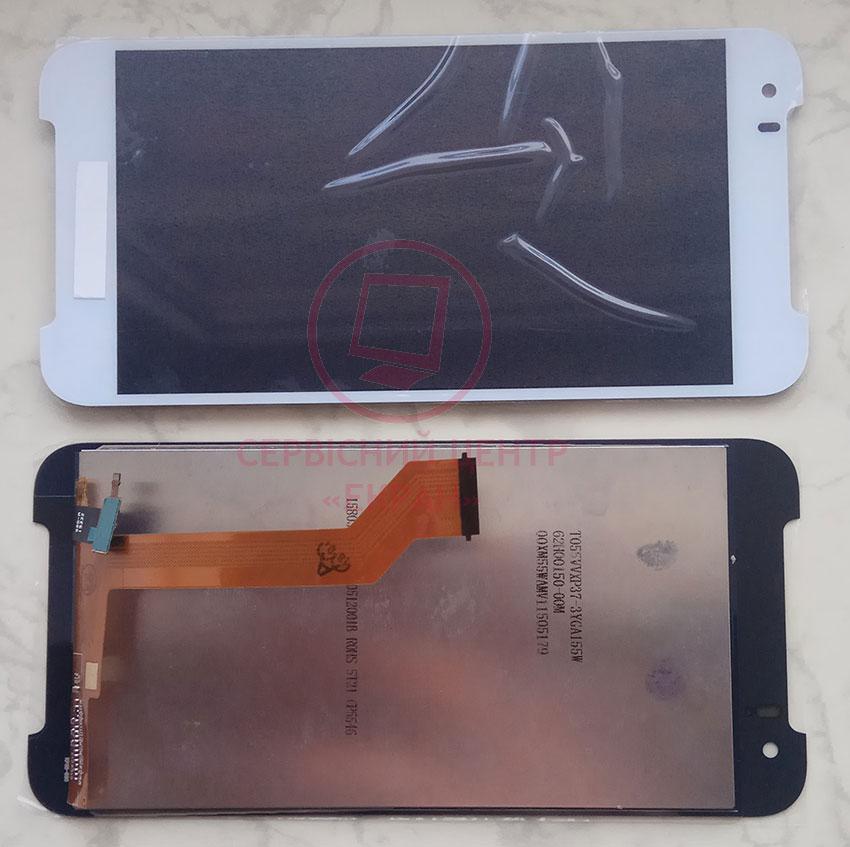 Дисплей модуль HTC Desire 830 в зборі з тачскріном, білий