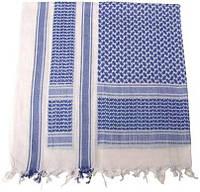 Куфия (арафатка) 115x110см сине-белая MFH 16503G