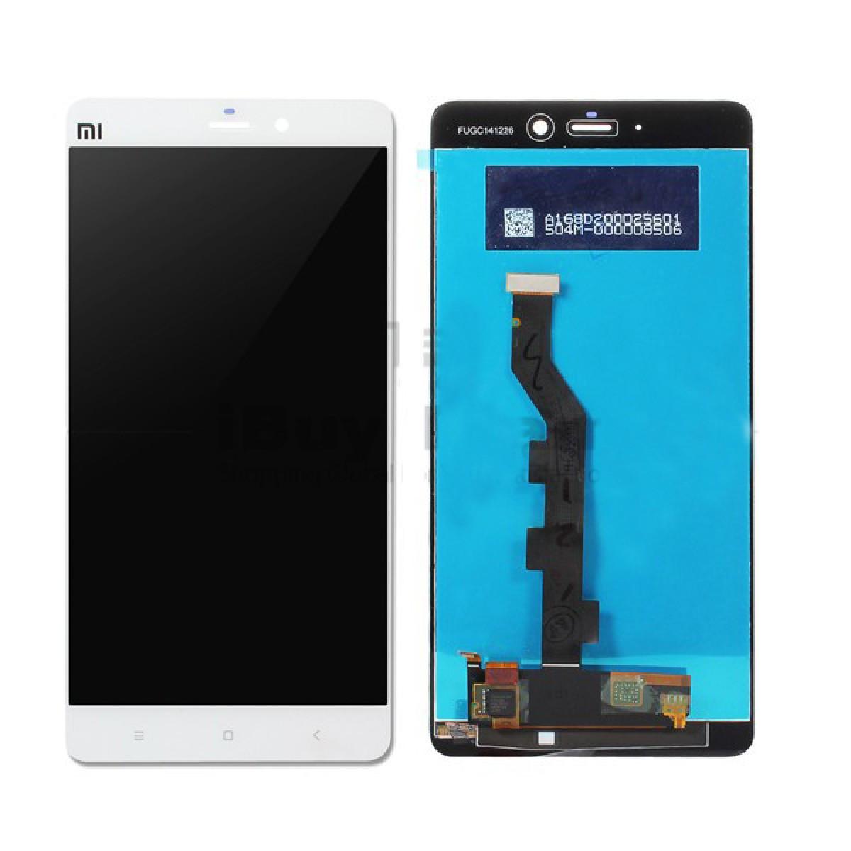 Дисплейний модуль з сенсорним екраном Xiaomi Mi Note  білий