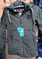 Весенняя куртка парка для подростка
