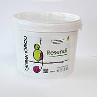 Декоративная краска с мраморной пылью Resendi. Greendeco 16кг