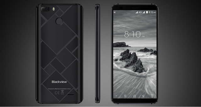 Распаковка и первое впечатление на Blackview S6
