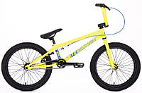 "Велосипед BMX Eastern LOWDOWN 20"" 2018 Желтый"