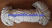 Трос статический полиамидный 10 мм для поискового магнита 400 кг, 600 кг