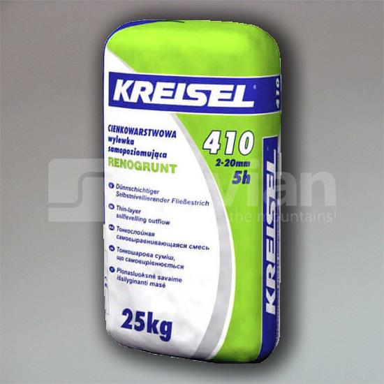 Самовыравнивающаяся смесь Kreisel FLIESS-BODENSPACHTEL 410, 25кг