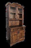 Буфет деревянный под старину, фото 1