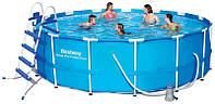 Каркасный бассейн BESTWAY 56438, 457х122 см (для всей семьи)
