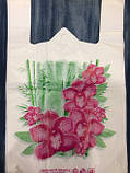 "Пакет майка ""Цветок"" (1уп.-250 шт.) 28*45"