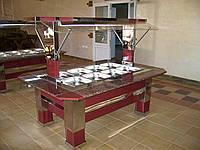 Салат-бары из нержавеющей стали, фото 1