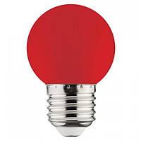 "Лампа Светодиодная ""RAINBOW"" 1W E27 A45 (красная)"