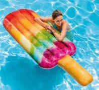 58766 Intex Надувной матрас эскимо Popsicle Float