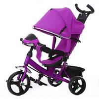 Велосипед трехколесный Tilly TRIKE T-347 фиолетовый