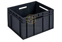Ящики пластиковые из вторичного сырья 433x347x283
