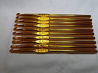 Набор металлических крючков для вязания 6,0 мм
