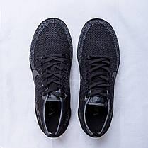 Кроссовки женские Nike Air Vapormax Flyknit серые топ реплика, фото 2