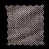Готовые шторы блэкаут-рогожка коричневый Dante-19, фото 2