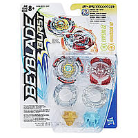 Beyblade Волчек Burst Dual Pack Evipero E2 and Horusood H2, Hasbro B9491_C2286