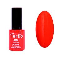 Гель лак Tertio №9, 10 мл морковно-красный