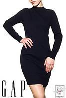 Женское шерстяное платье GAP Оригинал синее р. S 42-44