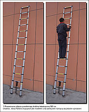 Лестница-стремянка 440 см, фото 2