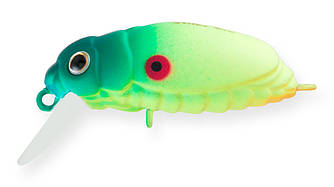 Воблер Strike Pro Beetle Buster 40 плавающий 4см 5,7гр Загл. 0,2м -0,7м #096SA