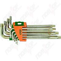 Набор ключей TORX GRAD 9шт Т10-Т50мм CrV средние с отвер. 4022285