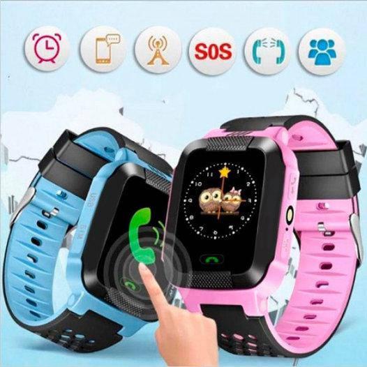 Детские часы Smart Baby Watch Q529 GPS трекером