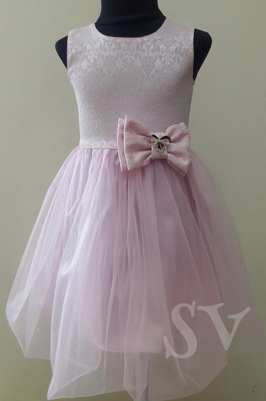 """Нарядное платье """"Нежность"""" для девочки подростка122-140"""