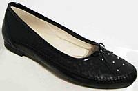 Балеткикожаные женские большого размера, кожаныебалетки от производителя модель МИ5012-19