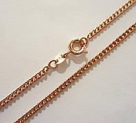 Цепочка плетение Классическое длина 50 см H-2 мм под советское золото