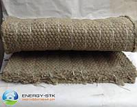 Мат прошивной из базальтового волокна М-60 МС с металлической сеткой Манье, толщина 80мм, фото 1