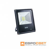 Прожектор EVRO LIGHT 30W 95-265V 6400K 2400Lm  SanAn SMD
