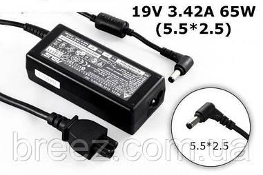 Блок питания для ноутбука Asus 19V 3.42A 65W 5.5x2.5