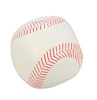 Мяч мягкий спортивный, 10 см, Lena, бейсбольный (62185-3)