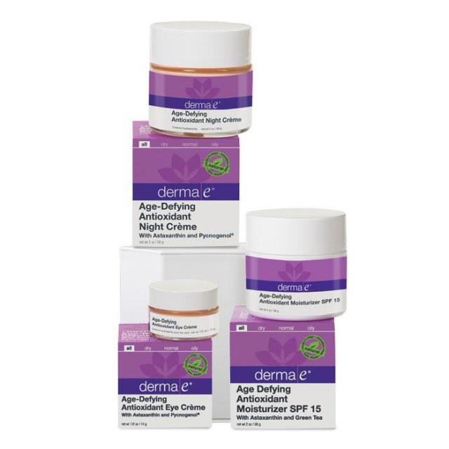 Програма по догляду за шкірою «Розв'язання вікових проблем 45+» * Derma E (США) *