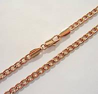 Цепочка плетение Классическое длина 59 см H-4 мм под советское золото