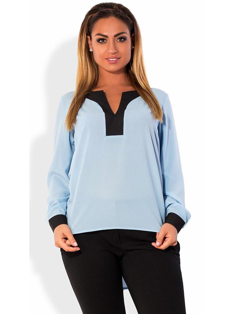 Блуза в стиле фрак размеры от XL 3052