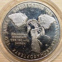 Серебряная монета Германии. 10 евро 2011 г