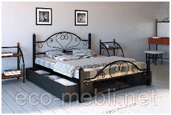 Двоспальне ліжко Джоконда Метал Дизайн