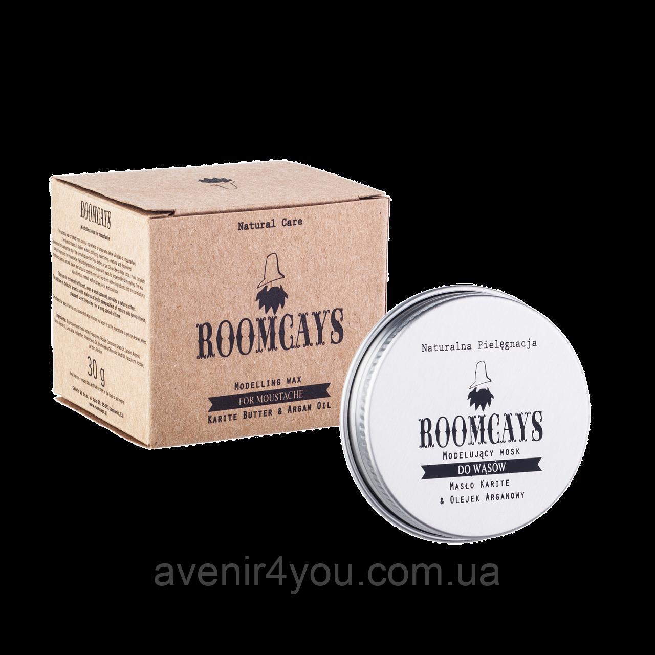 Roomcays Воск для бороды и усов.