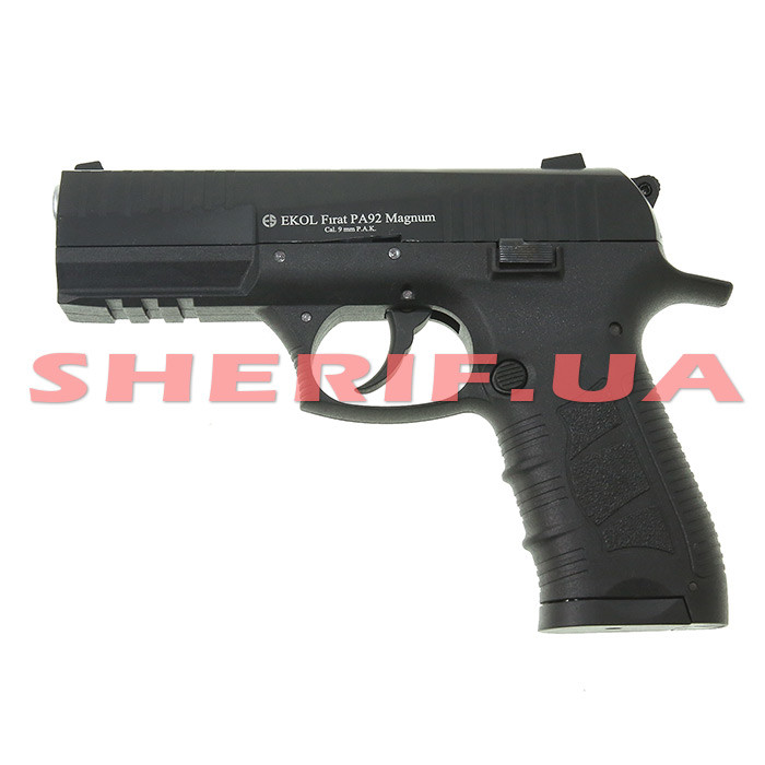 Стартовый пистолет сигнальный EKOL FIRAT PA92 Magnum Black 11534