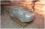 Светильник соляной:  машина форд, маквин
