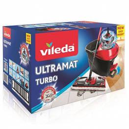 Комплект для уборки Vileda Easywring Ultramat черно-красный (4023103206236)